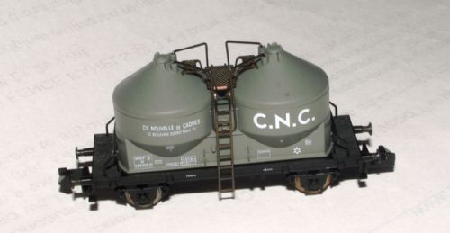 Arnold 4621 C.N.C.Twin Silo Cement Wagon